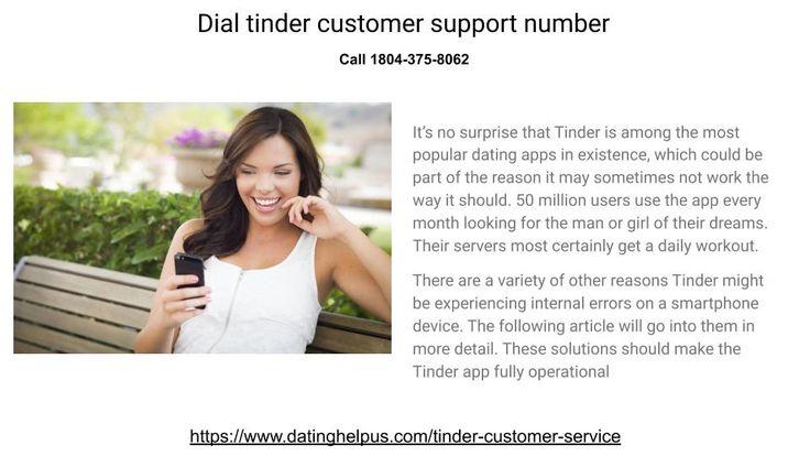 Dial tinder customer support number   Popular dating apps