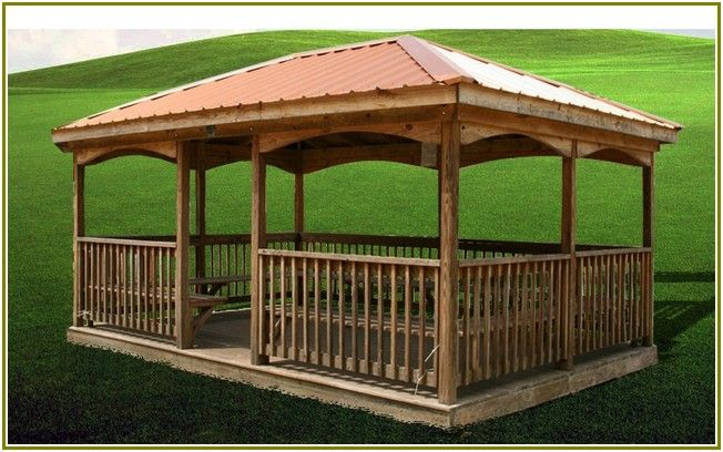 Portentous Wooden Gazebos For Sale