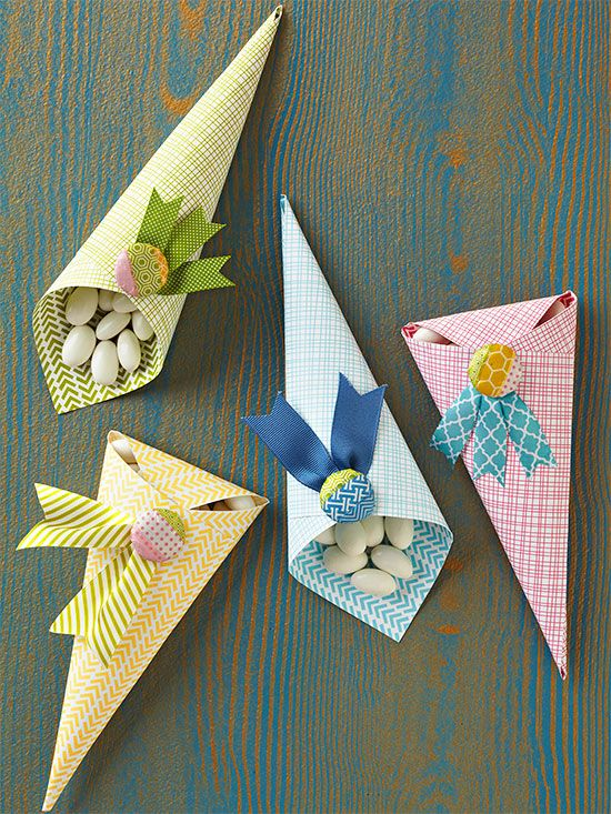 Quick last minute christmas gifts paper cones simple for Easy last minute christmas gifts to make