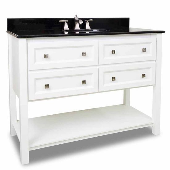 53 best images about white bathroom vanities on pinterest for Bathroom 48 inch vanity