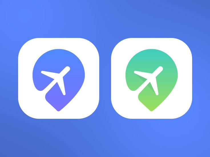 Great use of negative space to incorporate 2 subjects into one: an airplane and a map icon symbol to represent traveling. It's easily understandable what this app icon is for, and the scaleability would work well since it's such a simply design.