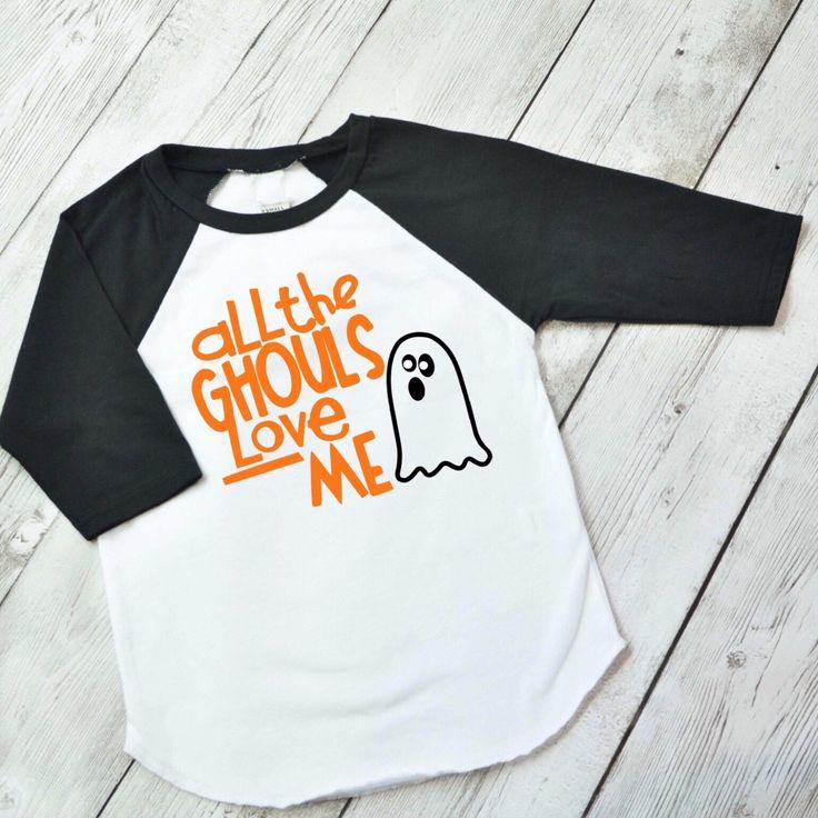 Boys Halloween Shirt - All the Ghouls love me shirt - Boys halloween raglan Shirt - Toddler Boy Halloween Shirt - Toddler Boy Shirt by ShopHartandSoul on Etsy https://www.etsy.com/listing/467068240/boys-halloween-shirt-all-the-ghouls-love