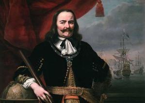 Anglo-Dutch Wars: Admiral Michiel de Ruyter: Lieutenant-Admiral Michiel de Ruyter by Ferdinand Bol, 1667