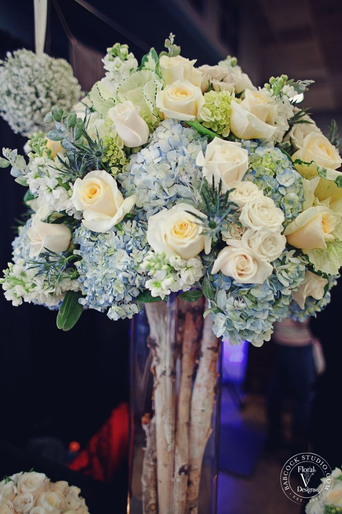Best blue hydrangea centerpieces ideas on pinterest