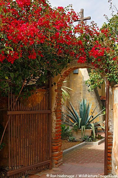 Founded on November 1, 1776 by Father Junipero Serra, Historic Mission San Juan Capistrano    became the seventh of 21 California Missions along the coast of California.