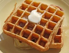 Recipe for Belgian waffles from scratch
