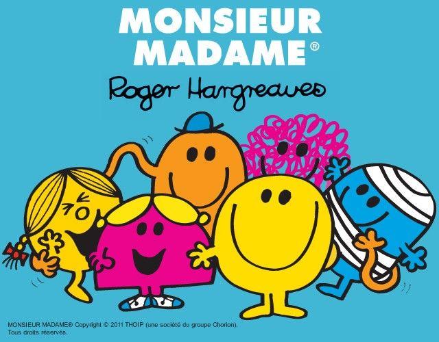 Coloriage de MONSIEUR MADAME : 400 coloriages gratuits
