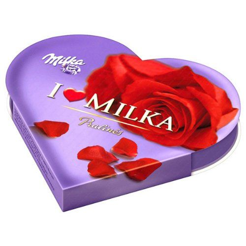 Milka I love Milka Cœur Cadeau petit, 50g: original I Love Milka Pralines Coeur de Chocolat avec 50g Produit de Milka de qualité. Cet…