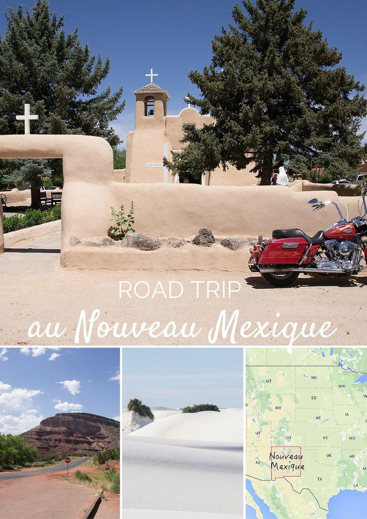 Etapes et coups de coeur au Nouveau Mexique : les petits villages, la nature, les dunes de sable blanc... ce petit Etat du sud-ouest américain a plein de choses à montrer !