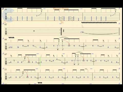 Electric Guitar - Smells Like Teen Spirit - Nirvana - TABs, Chords, & Vocals - YouTube