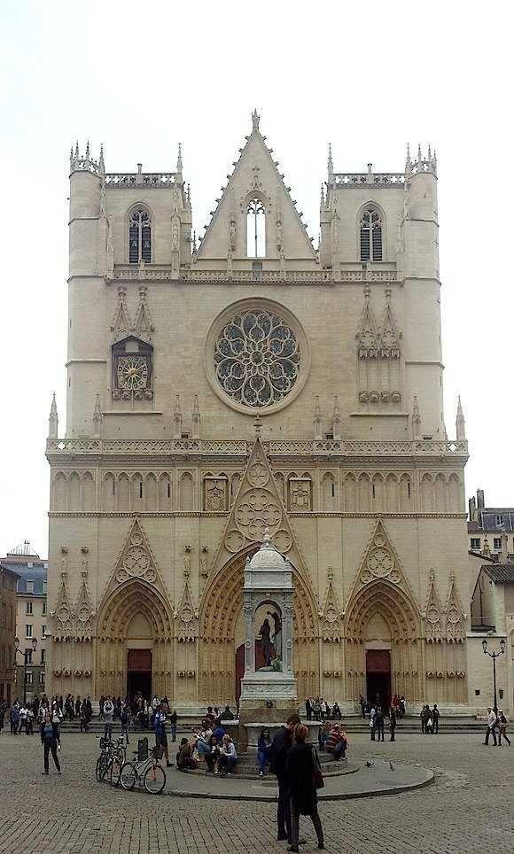 le Vieux Lyon : la cathédrale Saint-Jean