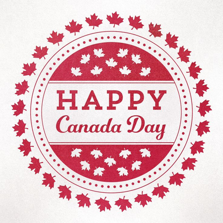 Happy Canada Day long weekend!!
