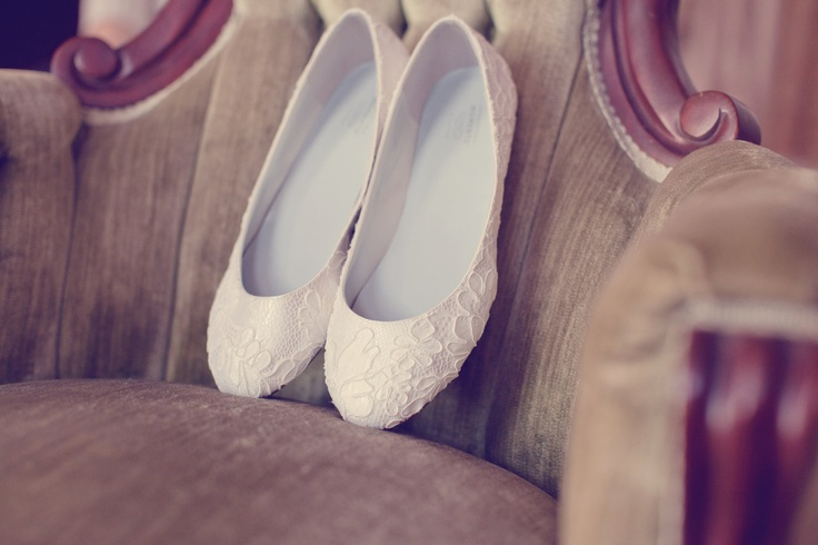 Ready To Ship Size 9 Ivory Wedding Shoes Ballet Flats Wrapped In Ivory French Lace