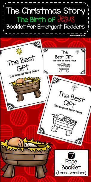 the christmas story the birth of baby jesus booklet emergent