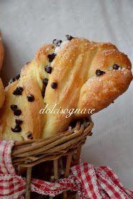 """DOLCISOGNARE: Brioches a """"doppio impasto"""" per una meravigliosa colazione..."""