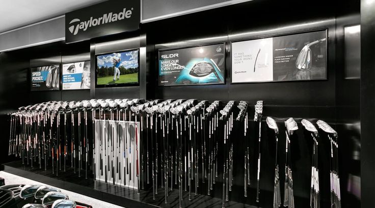 TaylorMade Golf Company is an American manufacturer of golf clubs, bags and accessories based in Carlsbad, California, United States. TaylorMade Golf was sold by .