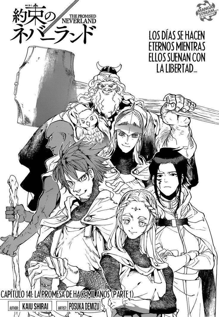 Yakusoku No Neverland Capitulo 141 00 La Promesa De Hace Mil Anos Parte 1 Masterpiece Scans Tumangaonline Ler Manga Neverland
