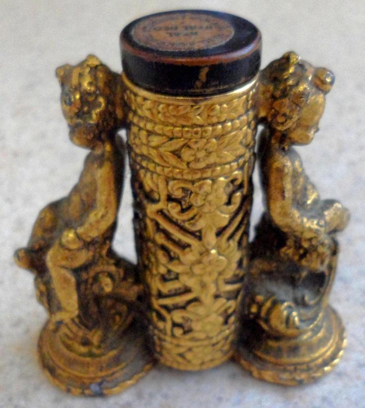 Antique Victorian Vanity Lipstick Holder ❤❤❤