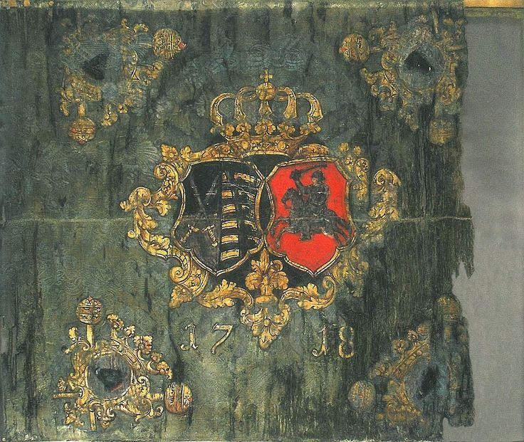 Chorągiew regimentu pieszego hetmana wielkiego litewskiego - 1718