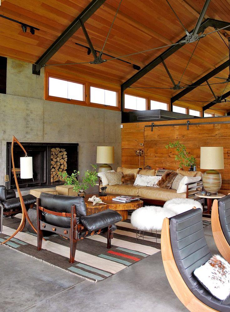 Living Room in Three Forks, MT by Madeline Stuart