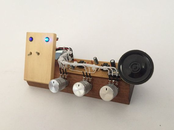 Crownotron  handmade synth by rarebeasts on Etsy