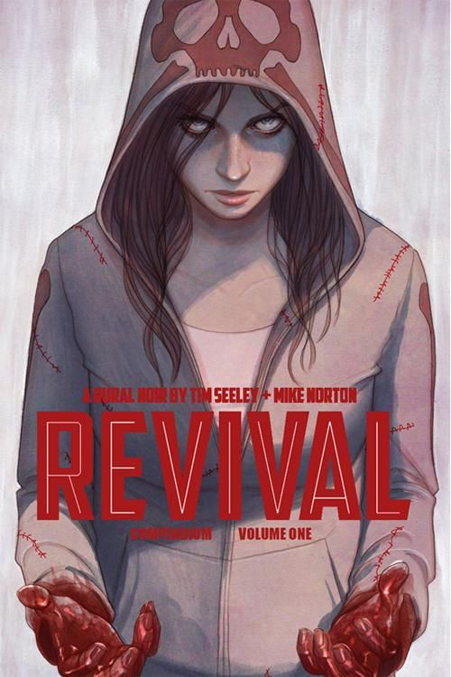 Revival Vol. 1 Deluxe Hardcover cover by Jenny Frison Image Comics