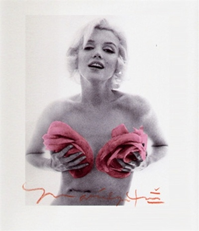 Marilyn Monroe with Pink Roses: Pink Roses, Marilyn Pink, Cute Art, Art Appreciation, Female Icons, Pink Marilyn Monroe, Artnet Auction, Awesome Art, Bert Stern