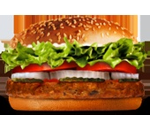 BK Veggie Burger. Who knew? Yay! Uses Morningstar Farms Veggie Patty. Dr Oz says just hold the mayo and save 80 calories