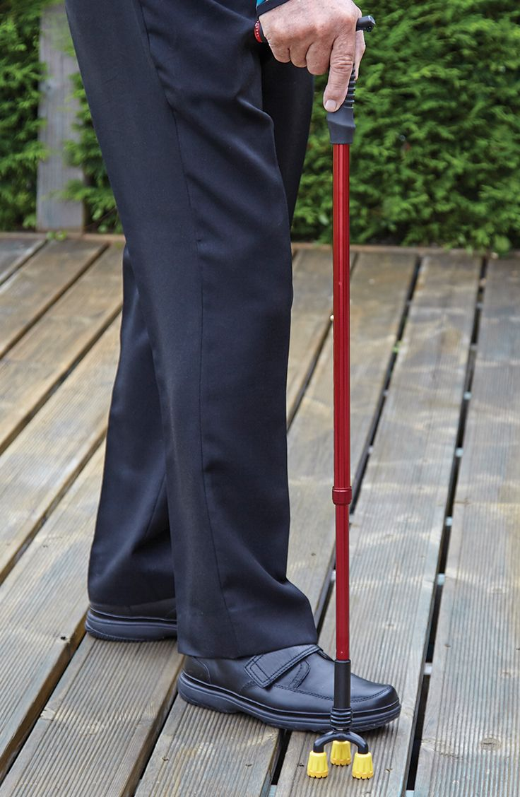 The Stable Walker is a height adjustable walking stick that provides extra support for when walking on uneven or difficult terrain.