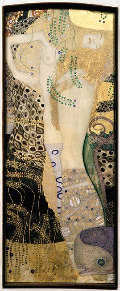 Gustav Klimt, Girlfriends (Water Serpents I), 1904-1907 | © © Belvedere, Vienna
