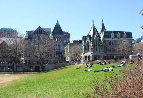 McGill University in Montreal, Quebec, Canada. (I wanted to go here for school)
