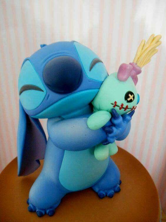 Stitch birthday cake disney