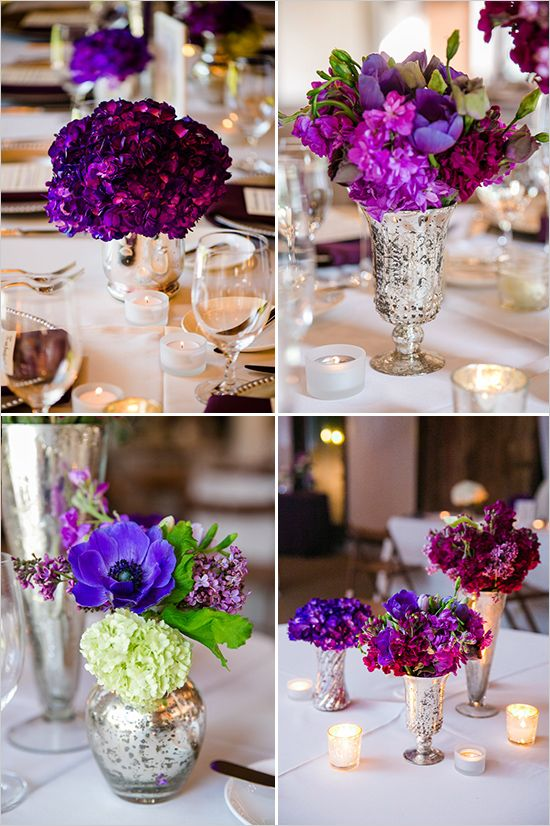 Regal wedding in royal purple. #weddingchicks Captured By: Dana Cubbage Weddings http://www.weddingchicks.com/2014/07/25/regal-wedding-in-royal-purple/