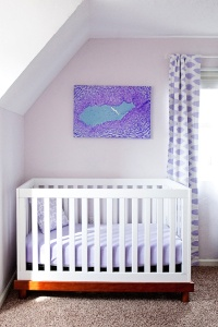 this is my friend Stephanie's amazing art, custom designed from magnified images of your baby's umbilical cord- it's beautiful and unique- not one is the same. So cool! wall art from Little Cord Art.   #modernnursery