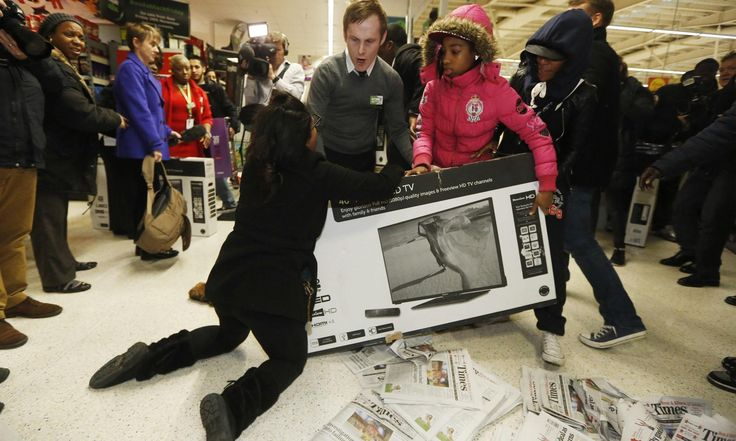 >>>> I don't understand at all why the Brits would want to copy an American tradition based on greedy consumerism where people lose all sense of humanity.  Black Friday is an embarrassment and shouldn't be emulated or copied.