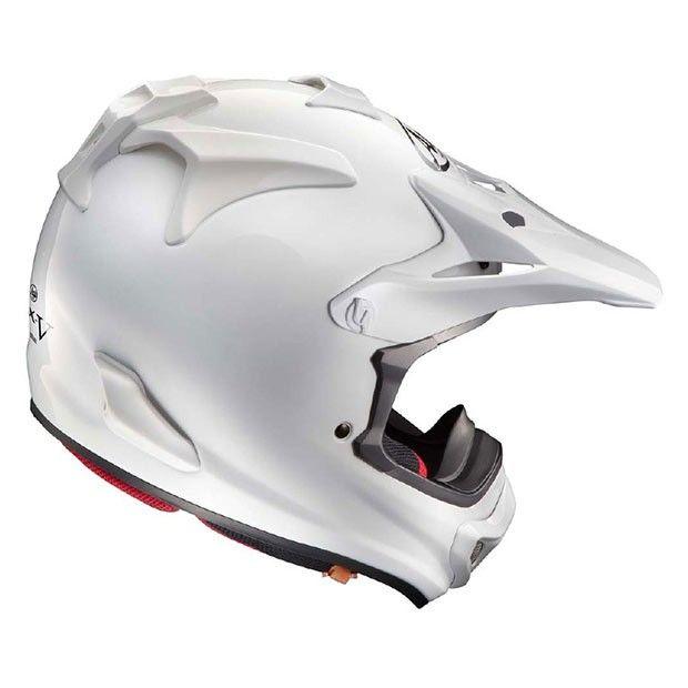 #Arai #MX-V #White #Motocross #Helmet Buy yours on www.helmade.com