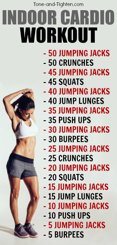 30-Minute Indoor Cardio Workout