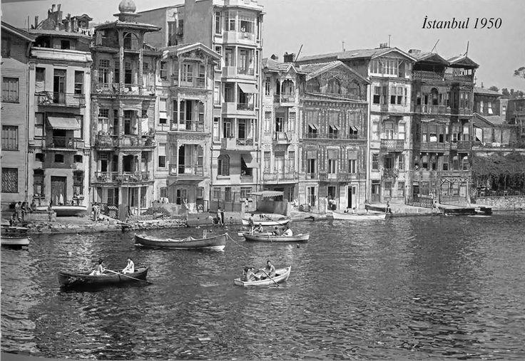 Arnavutköy 1950 -Bosphorus-Istanbul