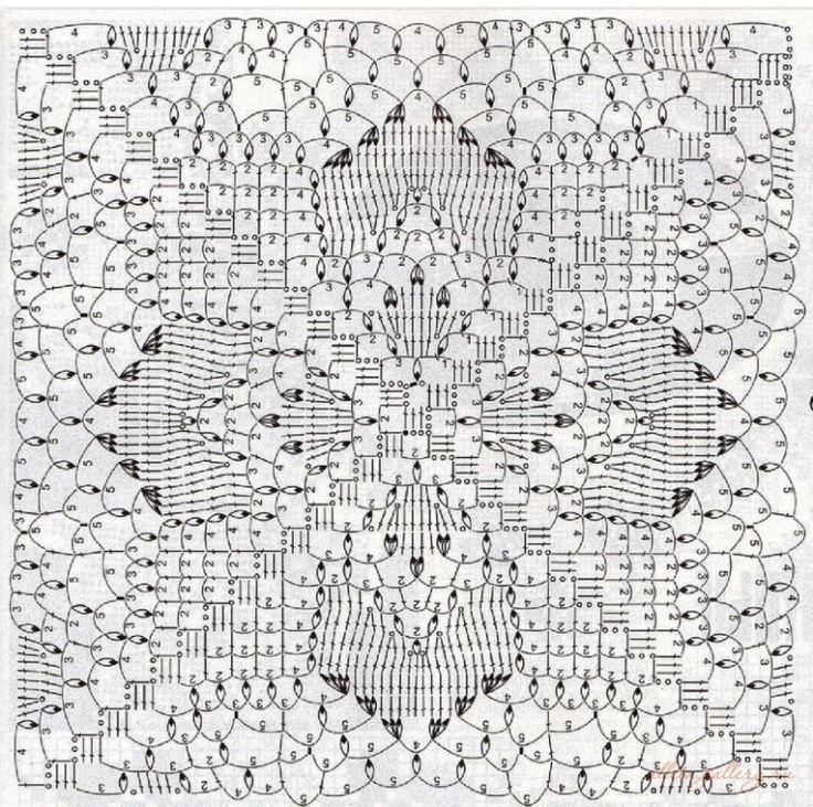 Free Online Crochet Square Patterns : 457 best images about CROchet square on Pinterest ...