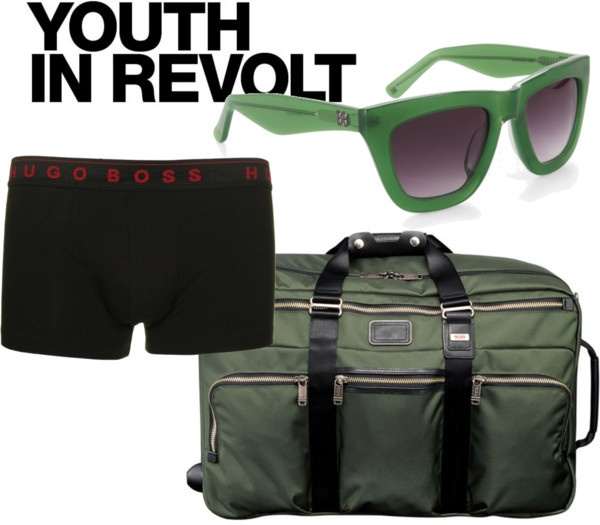 Stylish green, created by vschuuring on Polyvore