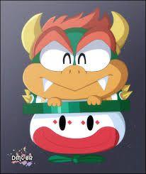 Bowser Chibi Mario Bros Pinterest Chibi