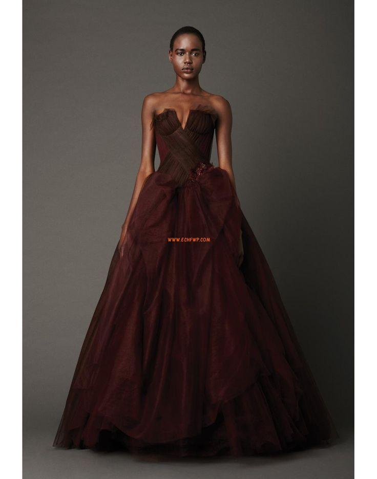 Retro inspirace Tyl Řasení Designer Svatební šaty