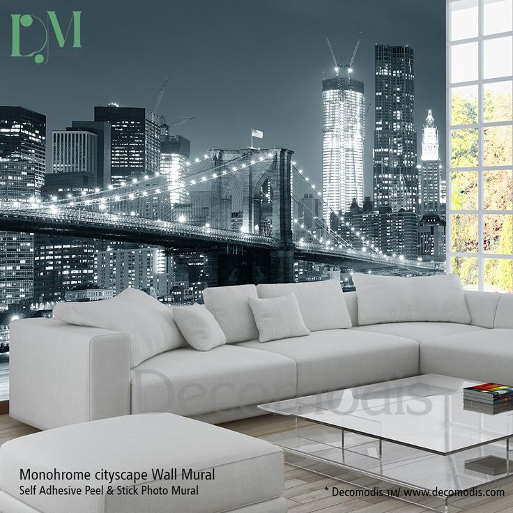 Homepolish Brooklyn Apartment Design With Cool Wallpaper: Best 25+ Photo Mural Ideas On Pinterest