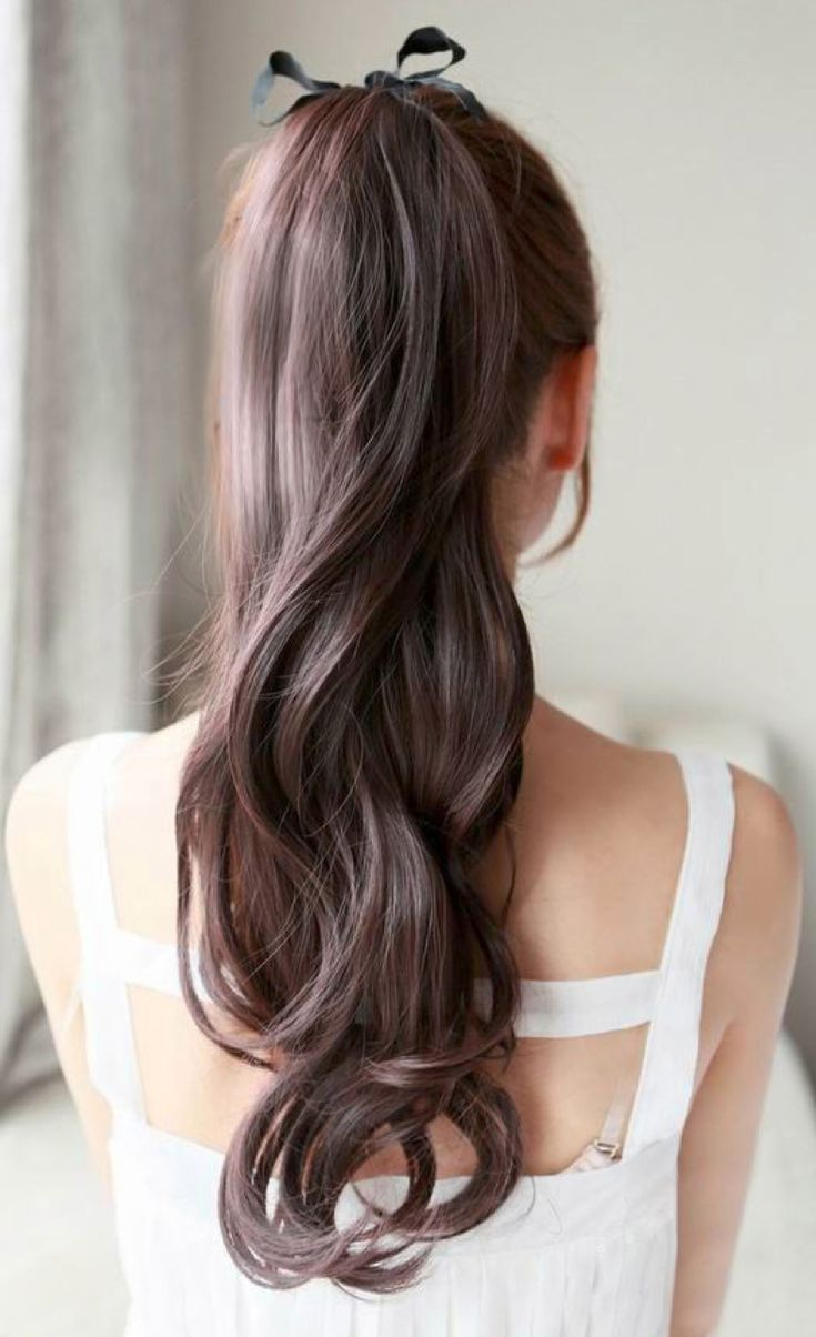 best 25+ long ponytails ideas only on pinterest | beautiful long