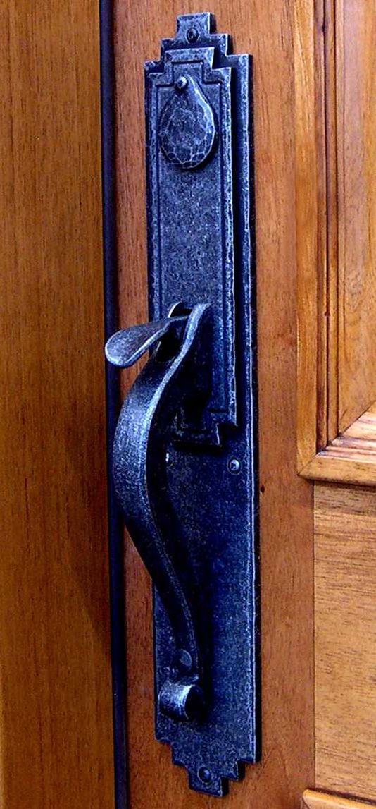 17 best images about door hardware on pinterest arts and for Arts and crafts exterior door hardware