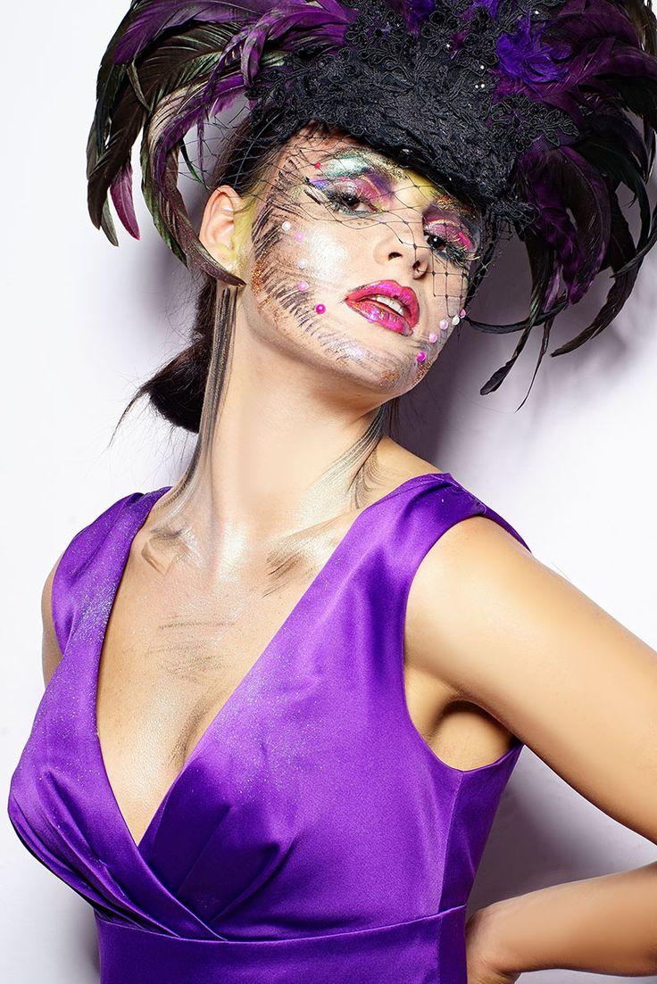 Creative makeup. Makijaż fantazyjny.