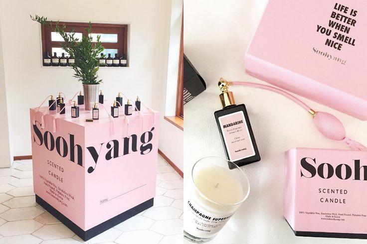 寵愛你的鼻子!來自首爾的粉紅蠟燭 Sooh Yang,粉嫩包裝 超夢幻香氣名字,女生無法抵抗!