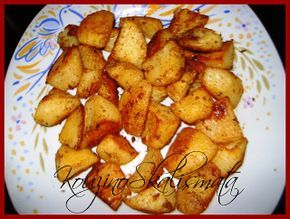 φούρνου αλλιώτικεςΚουζινοΣκαλίσματα: Πατάτες