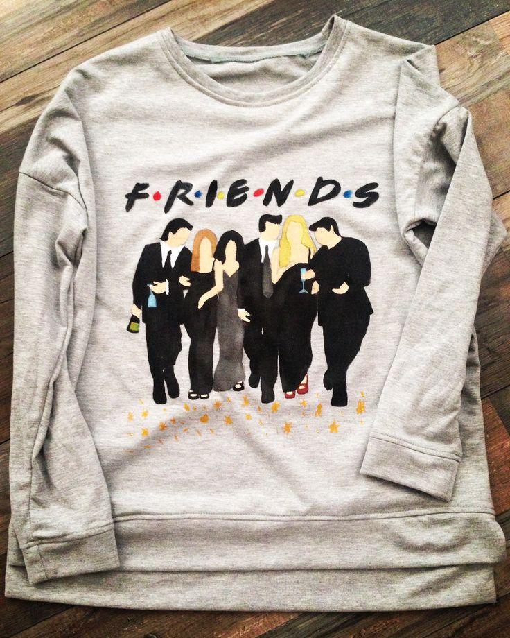 Sweatshirt for F•R•I•E•N•D•S fan)