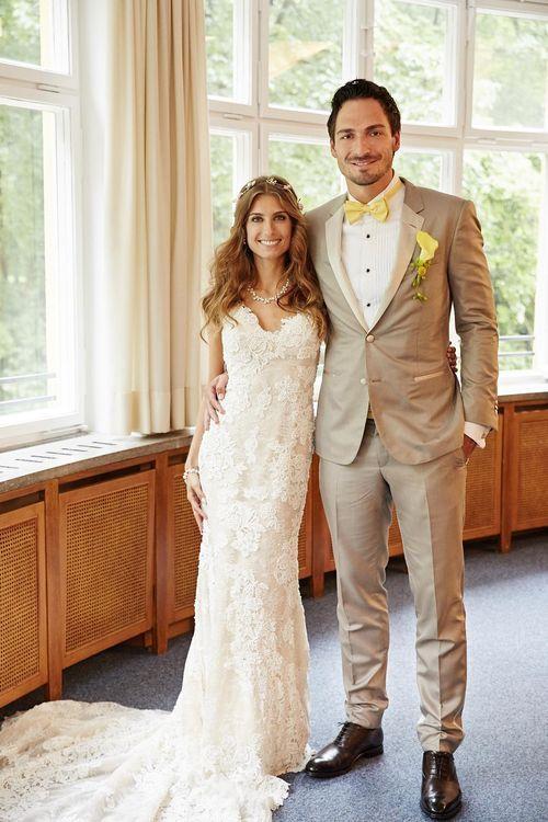 Mats Hummels und Cathy Fischer haben gestern endlich geheiraten